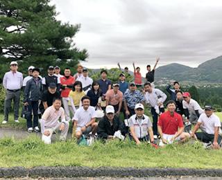 井定会ゴルフコンペ